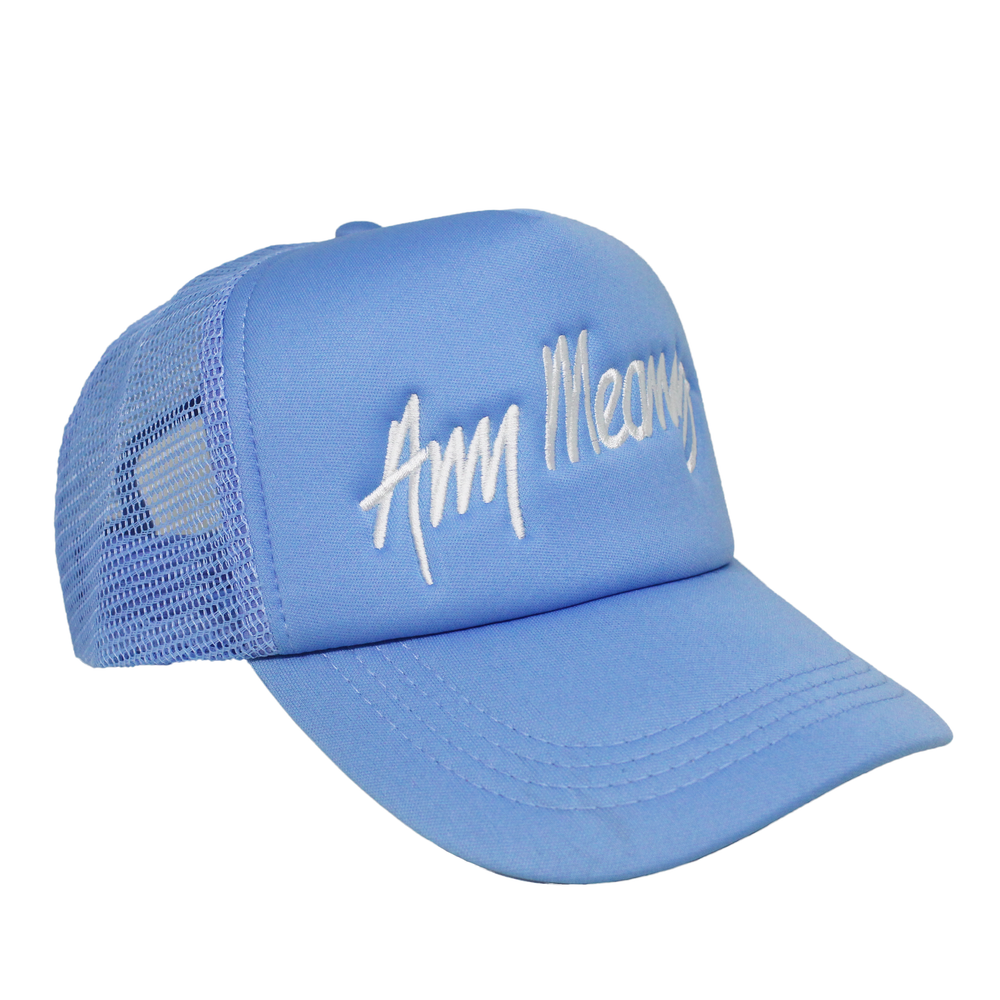 Image of Signature Trucker in Light Blue