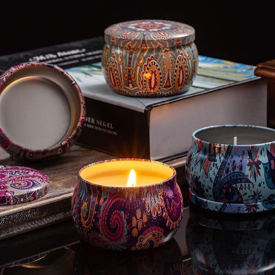 Image of 5oz Tin Candles