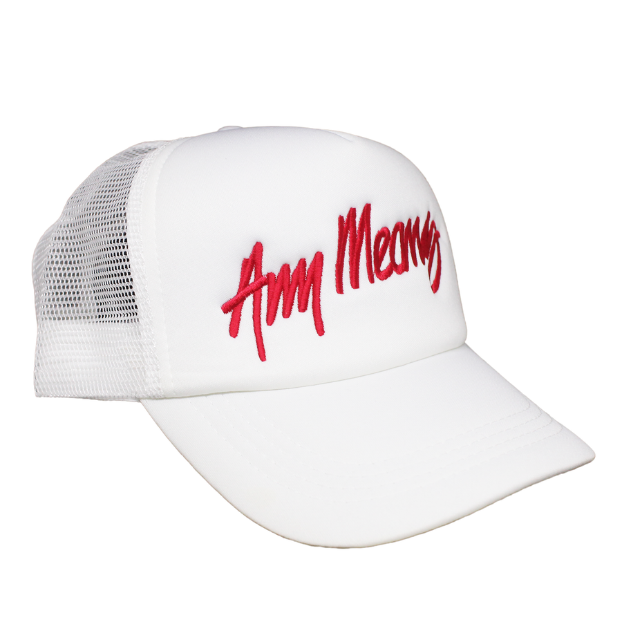 Image of Signature Trucker in White