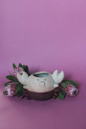 Image of Mr. Crabbypants planter/vase