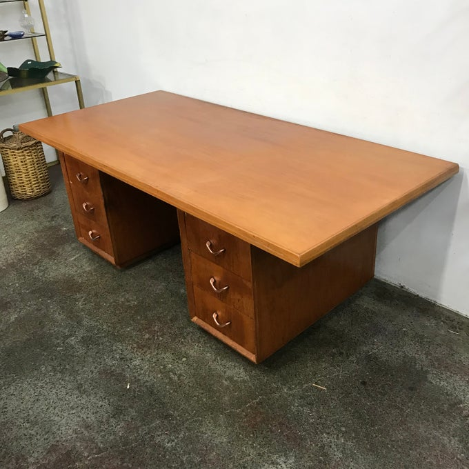 Image of LARGE 1960s DESK
