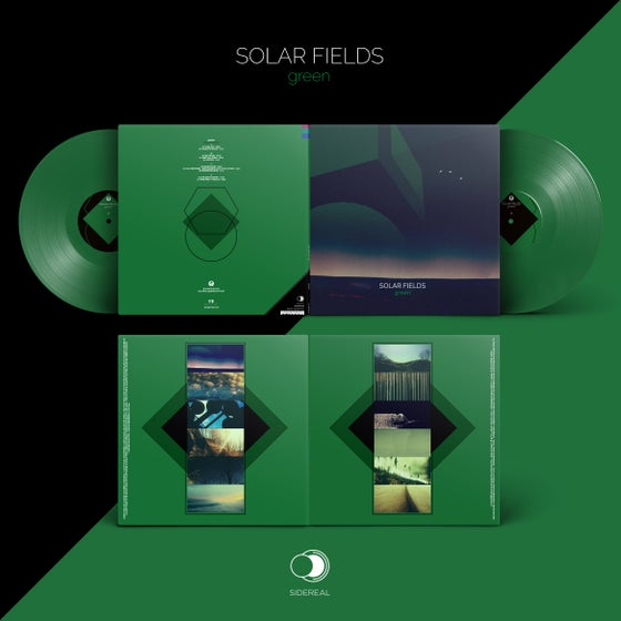"Image of Solar Fields ""Green"" 2LP (solid green vinyl)"