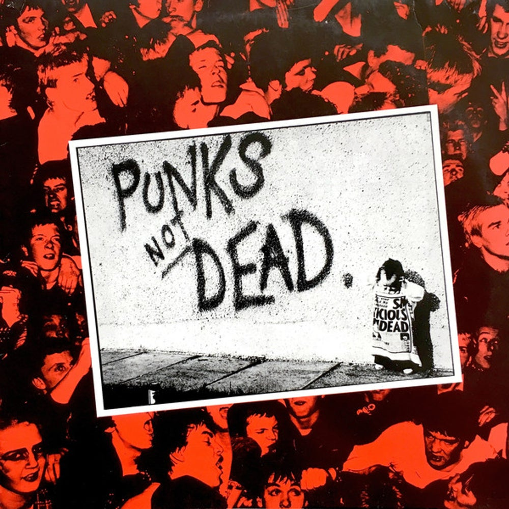 "Image of THE EXPLOITED ""Punks not dead"" LP"