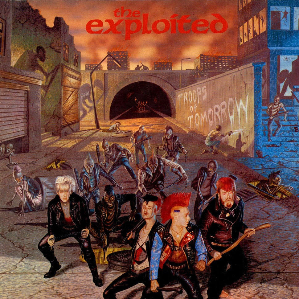 "Image of THE EXPLOITED ""Troops of tomorro"" LP"