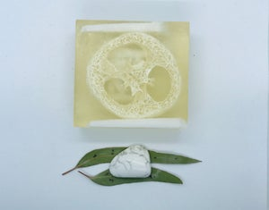 Howlite Soap with Loofah