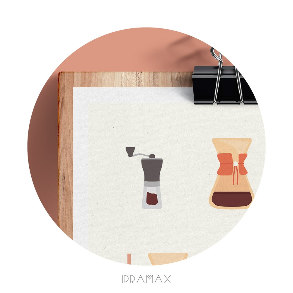 Image of ILLUSTRATION LIMITEE - COFFEE LOVERS