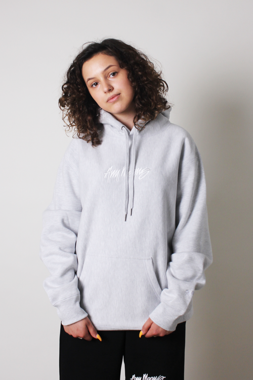 Image of Signature Hoodie in Heather Grey