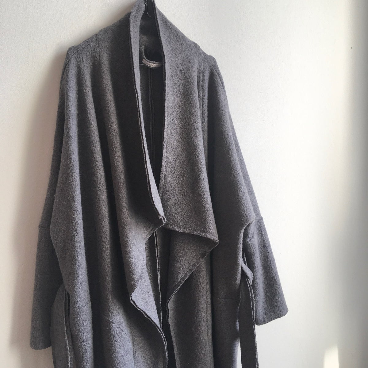 Wool Coat - Big Girls