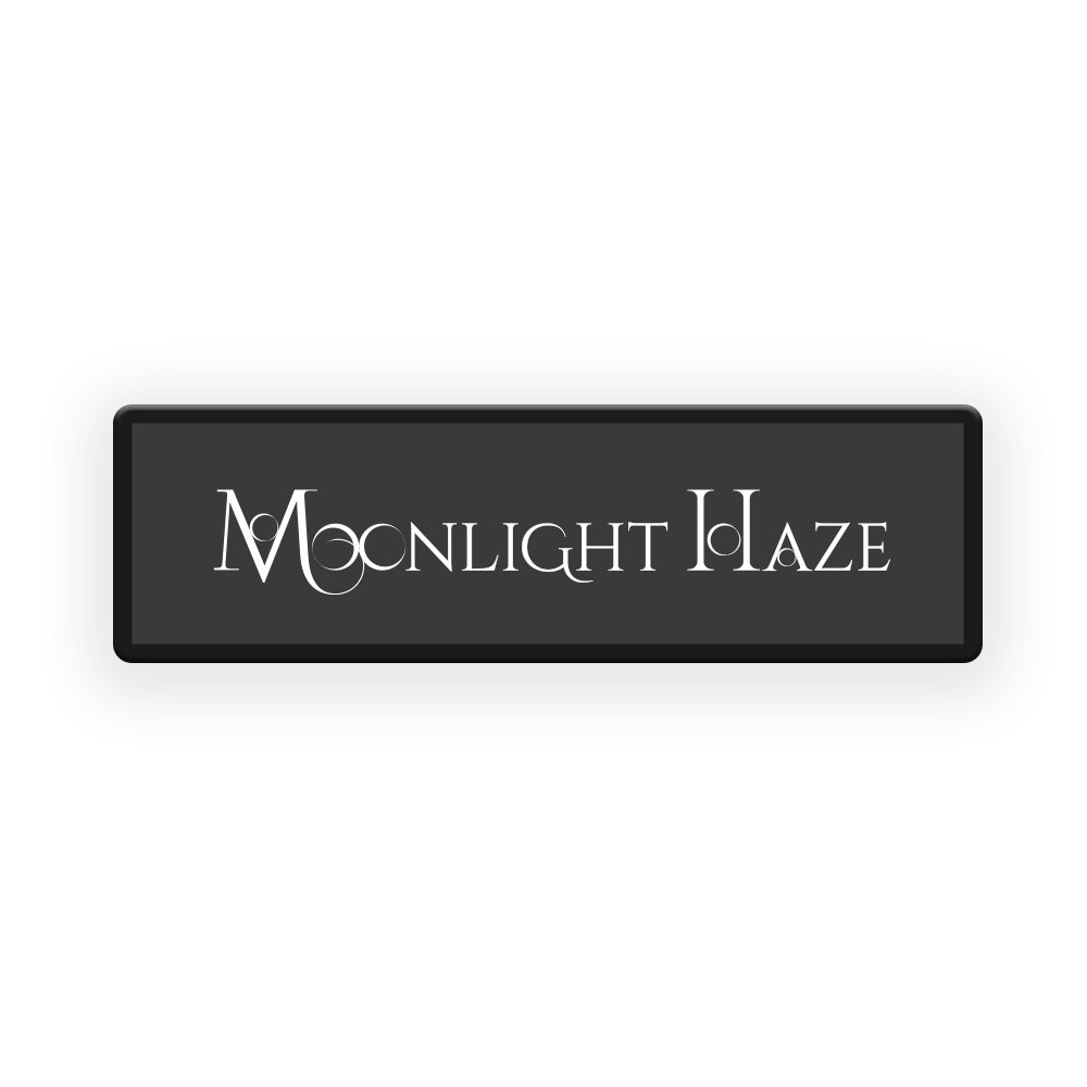 Image of MOONLIGHT HAZE Logo Patch
