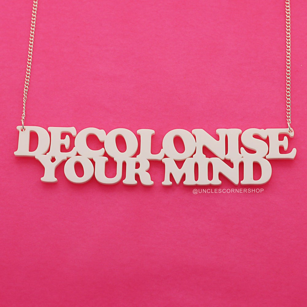 Image of Decolonise your mind - necklace