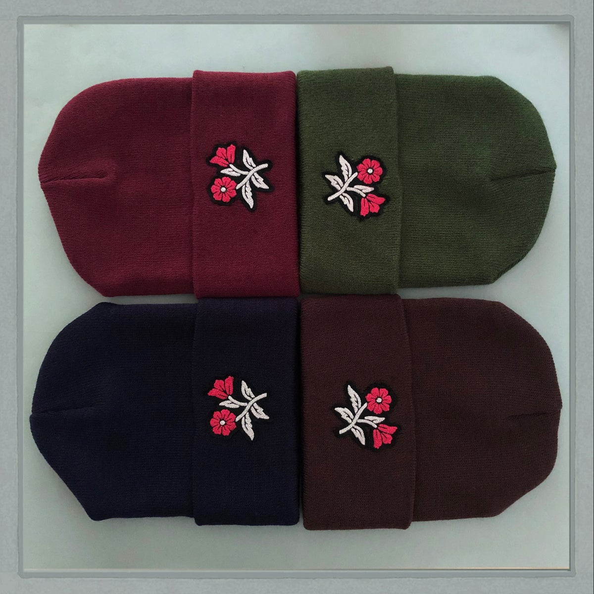 Image of Winter Floral Hat