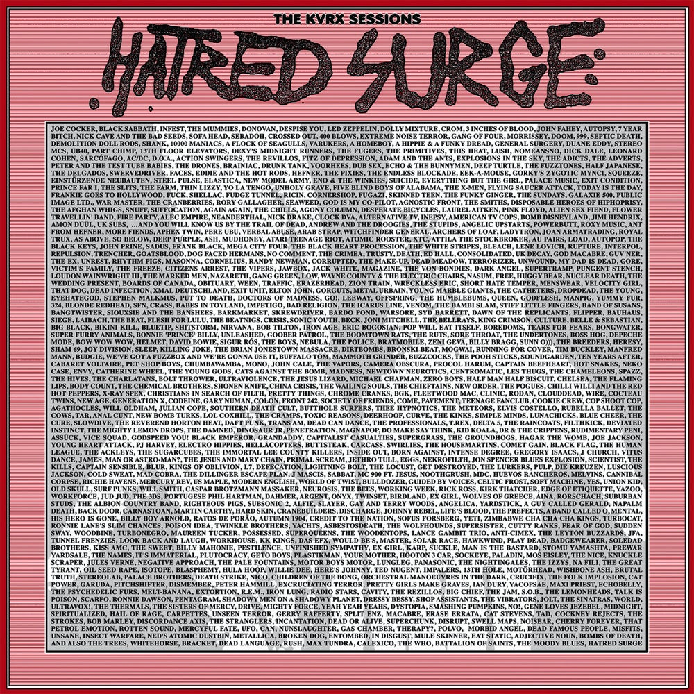 "HATRED SURGE ""The KVRX Sessions"" LP + 7"" Flexi"