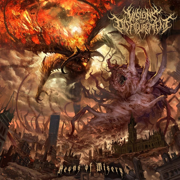 Image of VISIONS OF DISFIGUREMENT - Aeons Of Misery CD