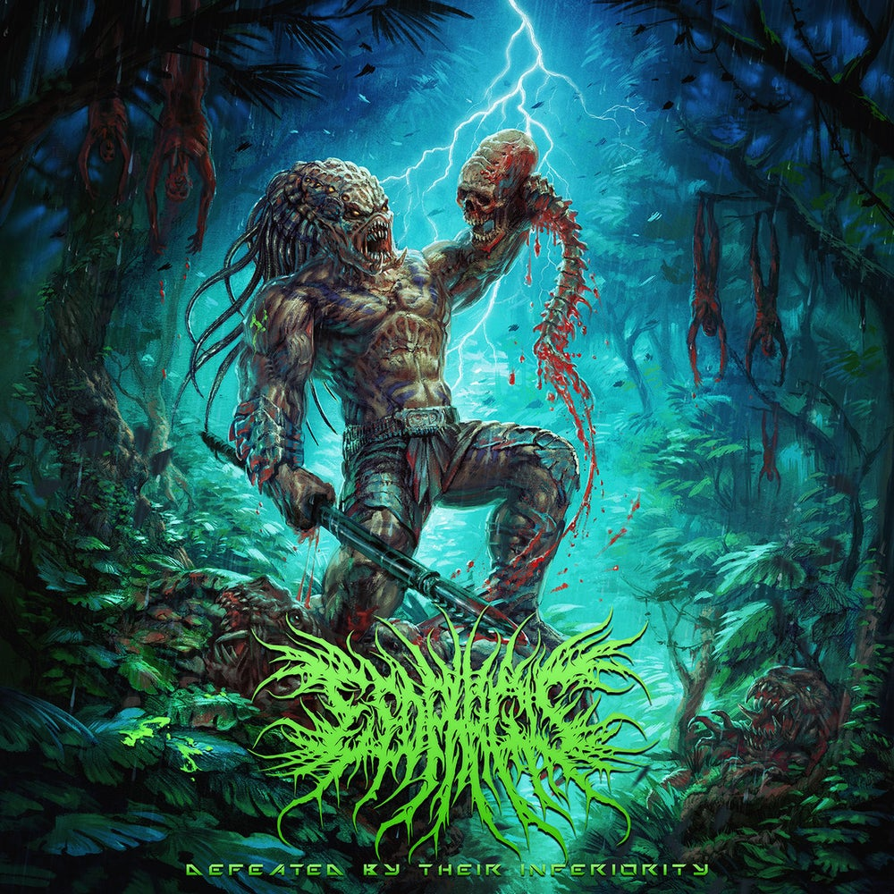 Image of ESOPHAGUS - Defeated By Their Inferiority CD