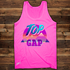 Top Gap Retro Tank