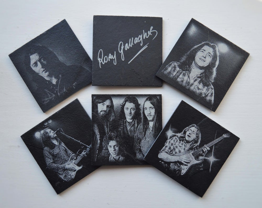 Rory Gallagher - 6 piece  Coaster Set