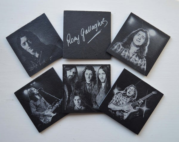 Image of Rory Gallagher - 6 piece  Coaster Set