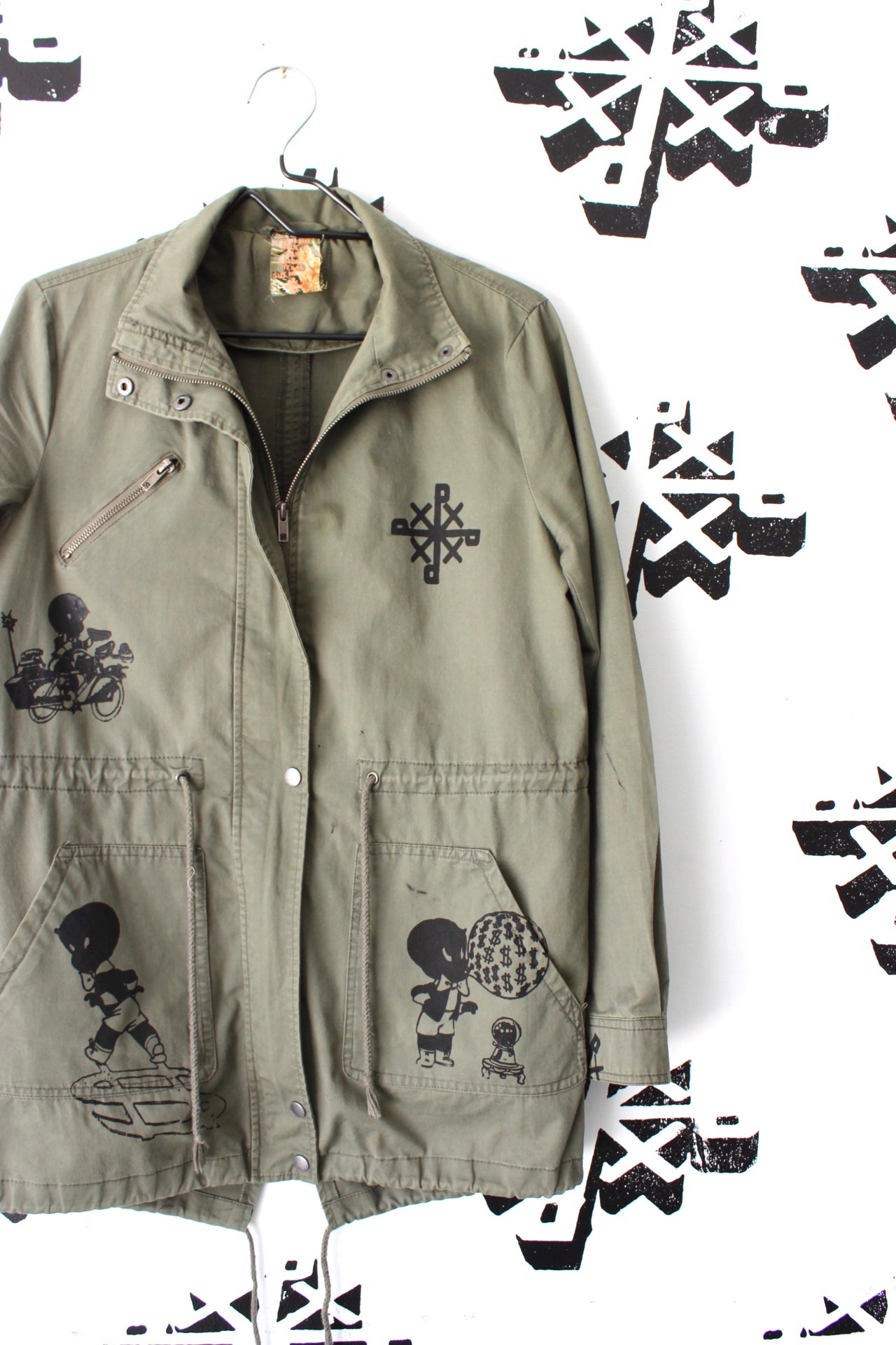Image of everyday activities jacket in army green
