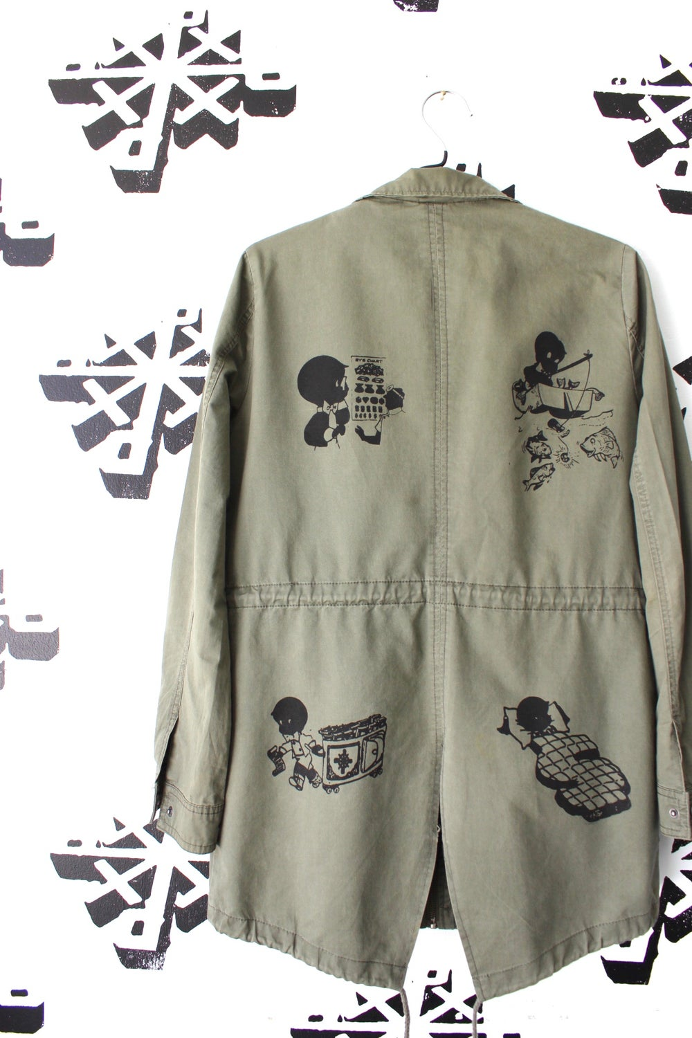 everyday activities jacket in army green