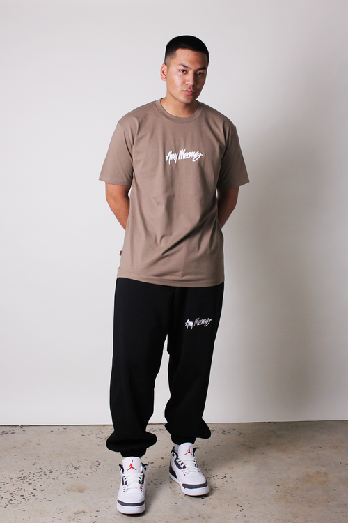 Image of Signature Tee in Coffee Brown