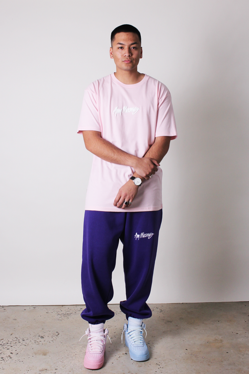 Image of Signature Tee in Light Pink