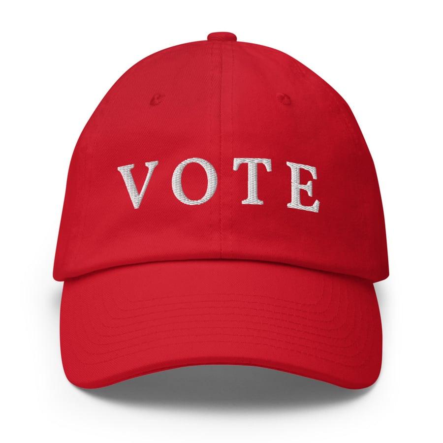 Image of VOTE Cotton Cap