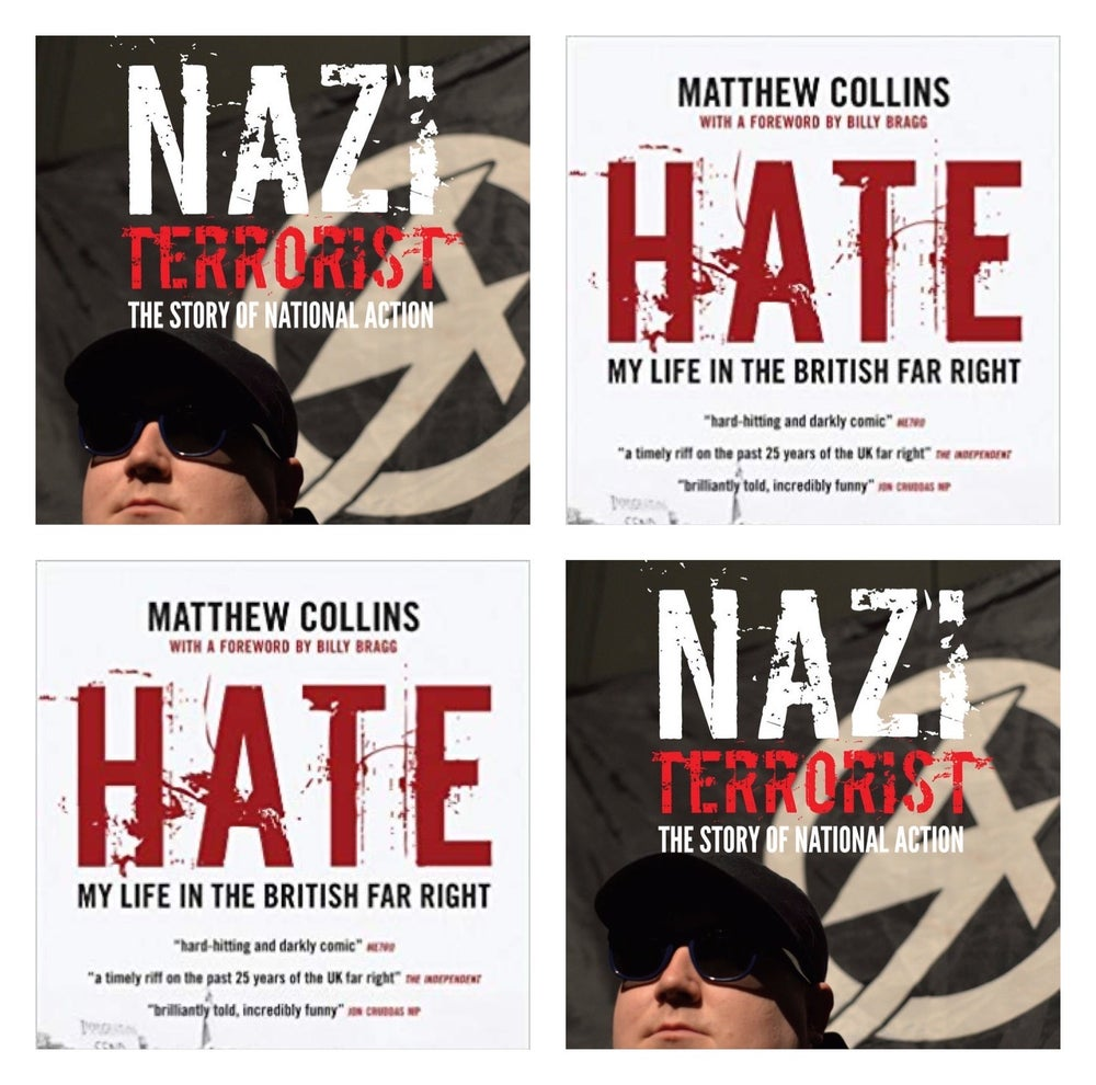 Image of Books: 'Nazi Terrorist' & 'Hate' double offer