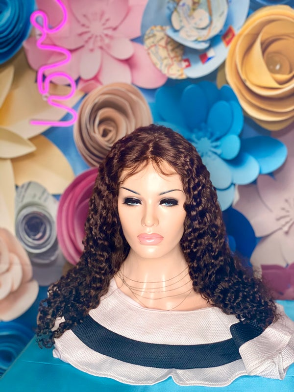 Image of DEEP CURLY #4 LACE CLOSURE WIG
