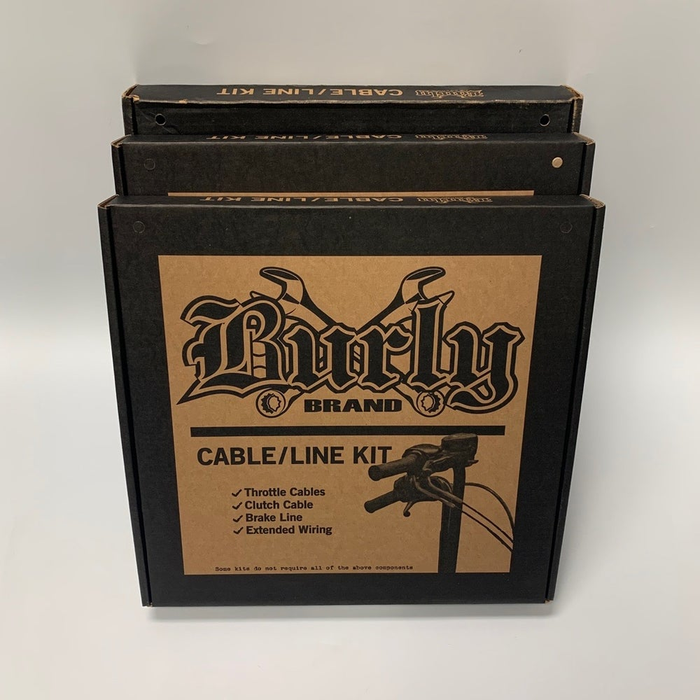 Image of Burly Cable Kit (for Sportster, Dyna & Softail Models)