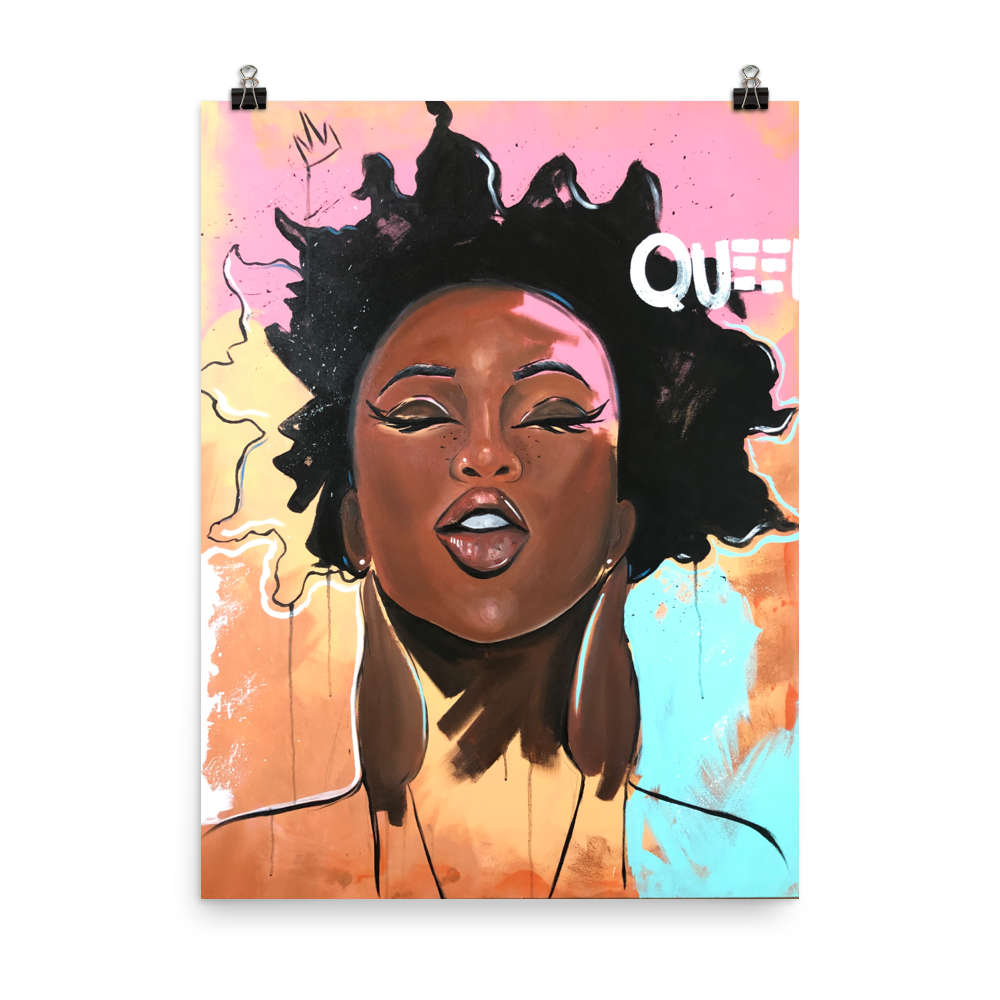 Image of Vibrant Queen ONE (unframed)