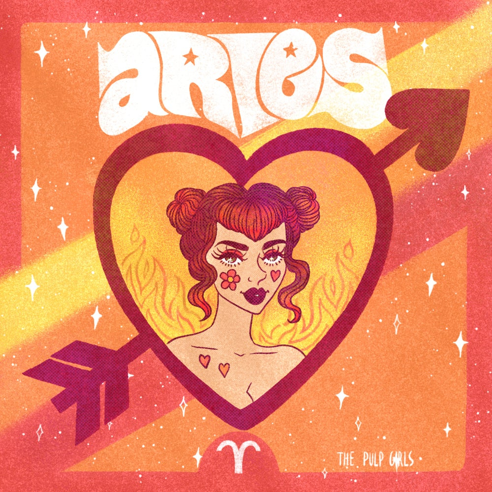 Image of ARIES ASTROLOGY TEE