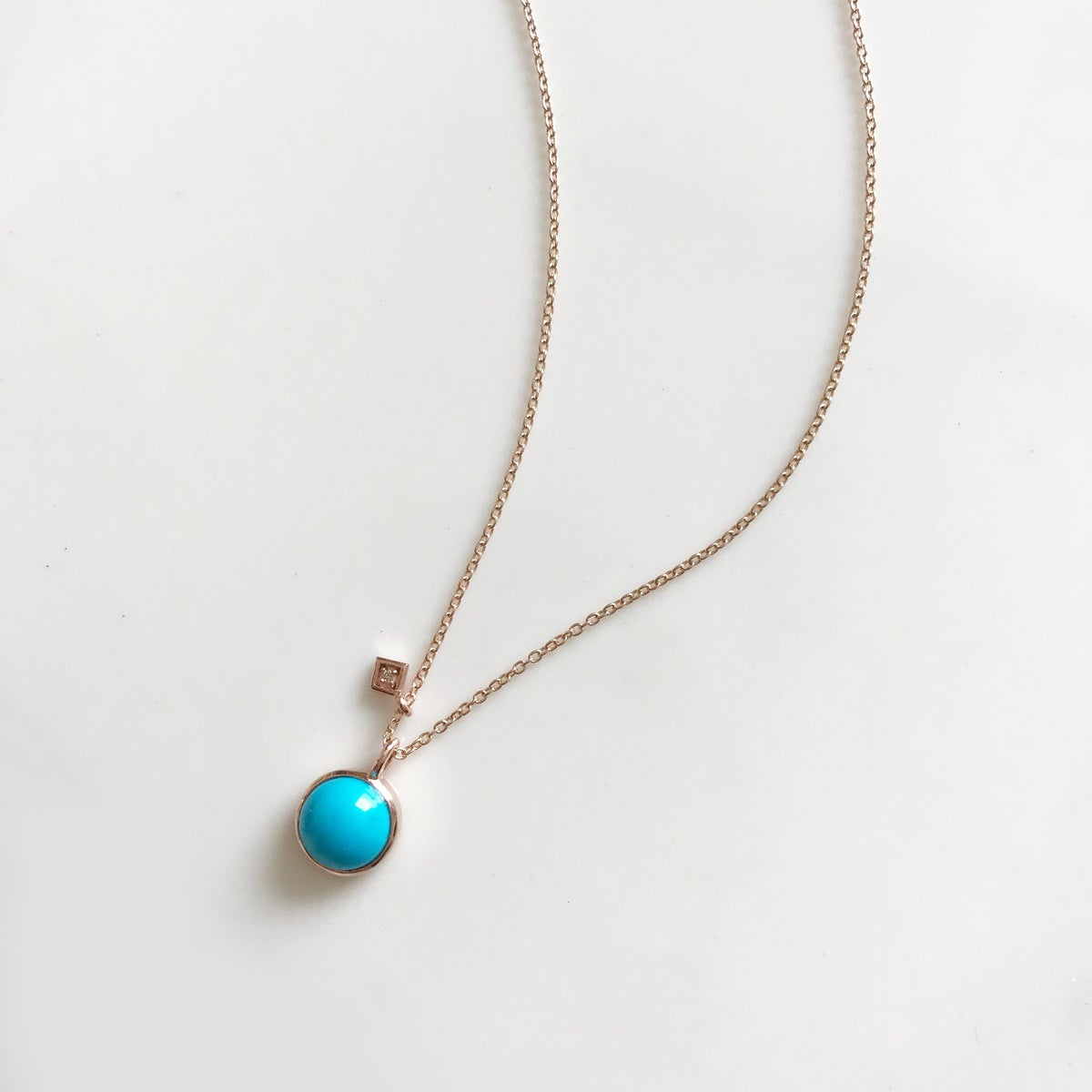 Image of Art Deco Turquoise Necklace