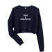 Image of Toxic Cropped Sweatshirt - Navy