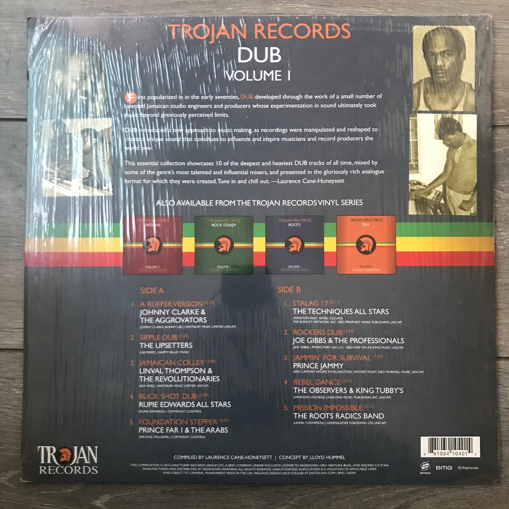Image of Trojan Records - Dub Vinyl LP