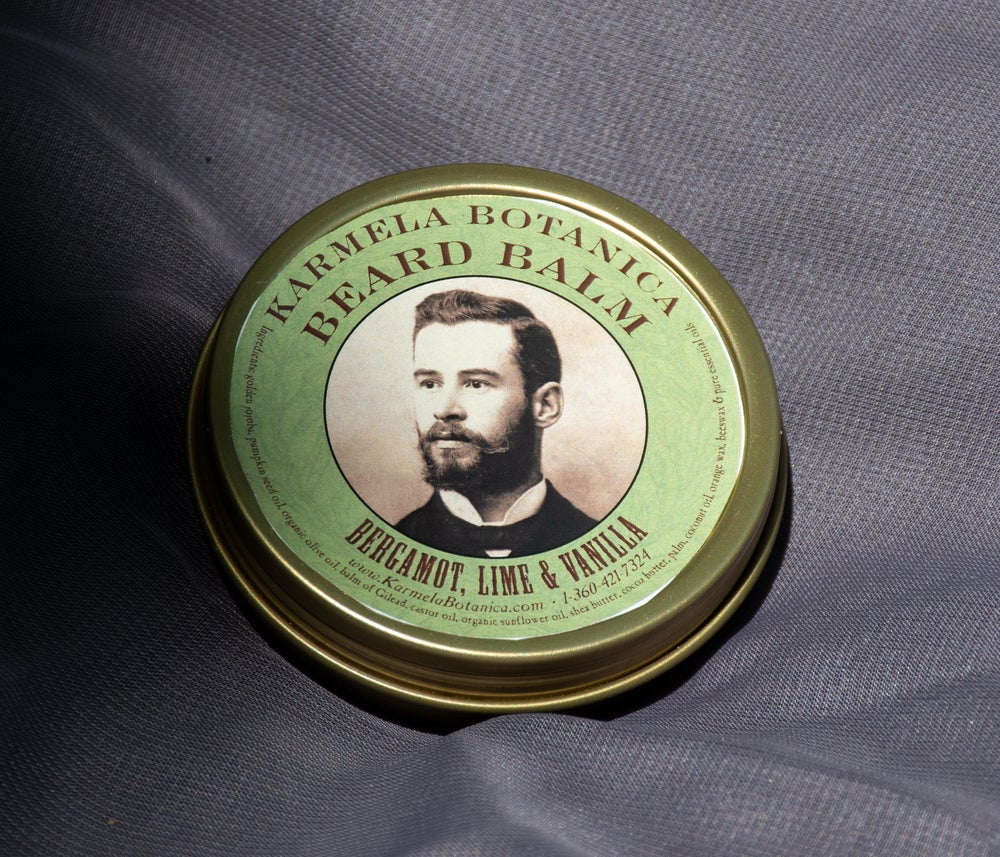 Image of Bergamot, Lime and Vanilla Beard Balm