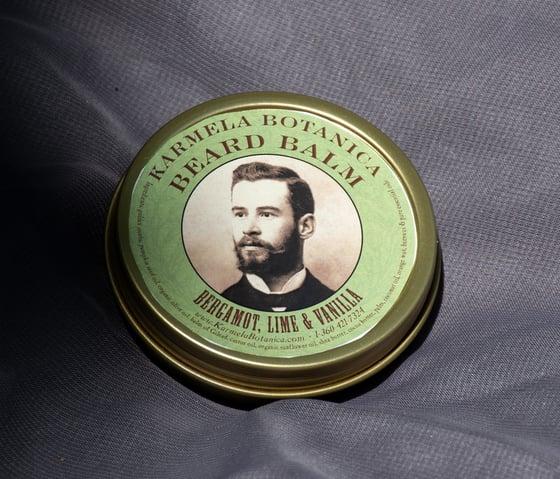 Image of Bergamot, Lime and Vanilla Beard Balm