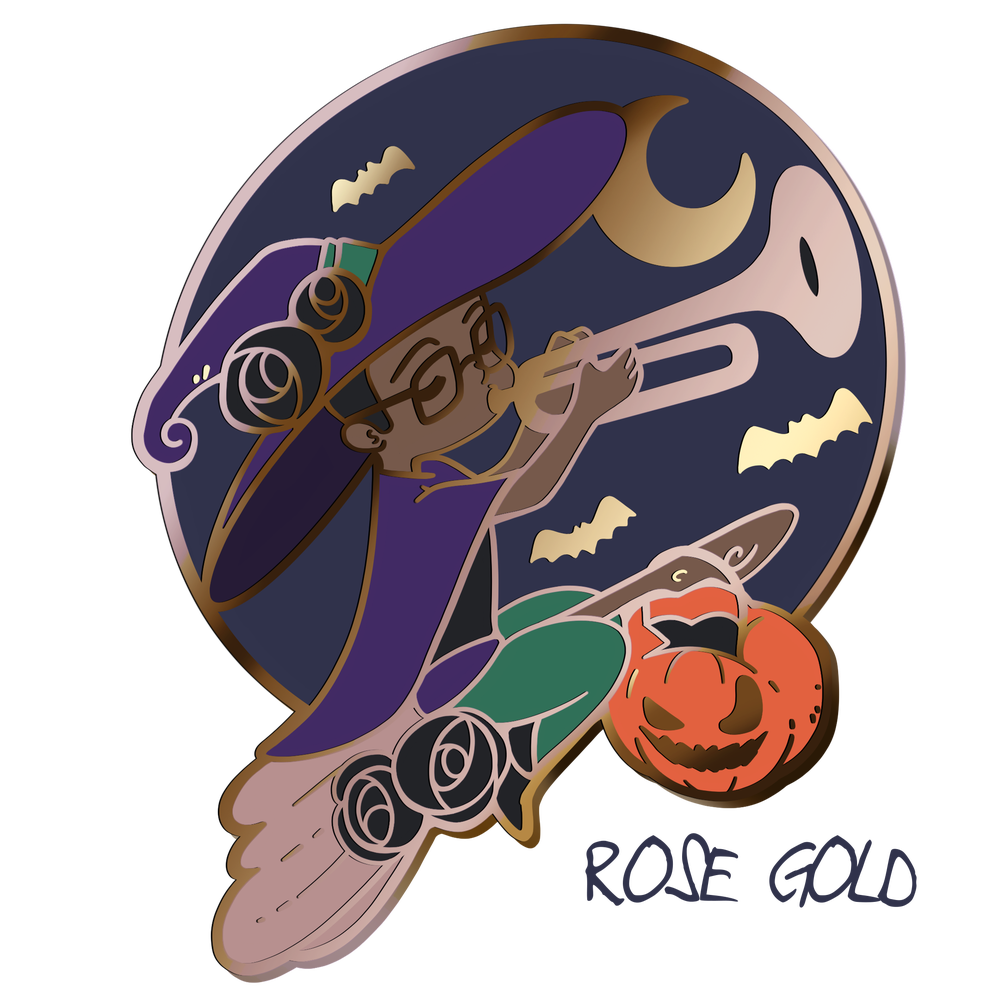 Image of WITCHY JER | ENAMEL PIN | 2 OPTIONS!!