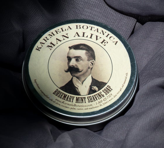 Image of Man Alive Rosemary Mint Shave Soap
