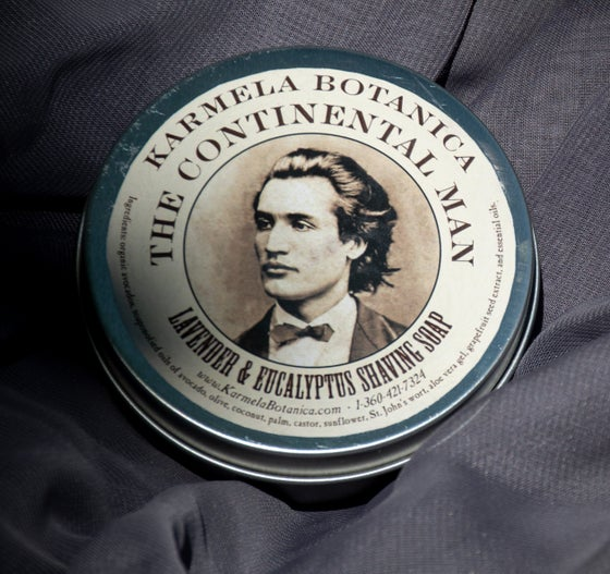 Image of Continental Man Lavender & Eucalyptus Shaving Soap