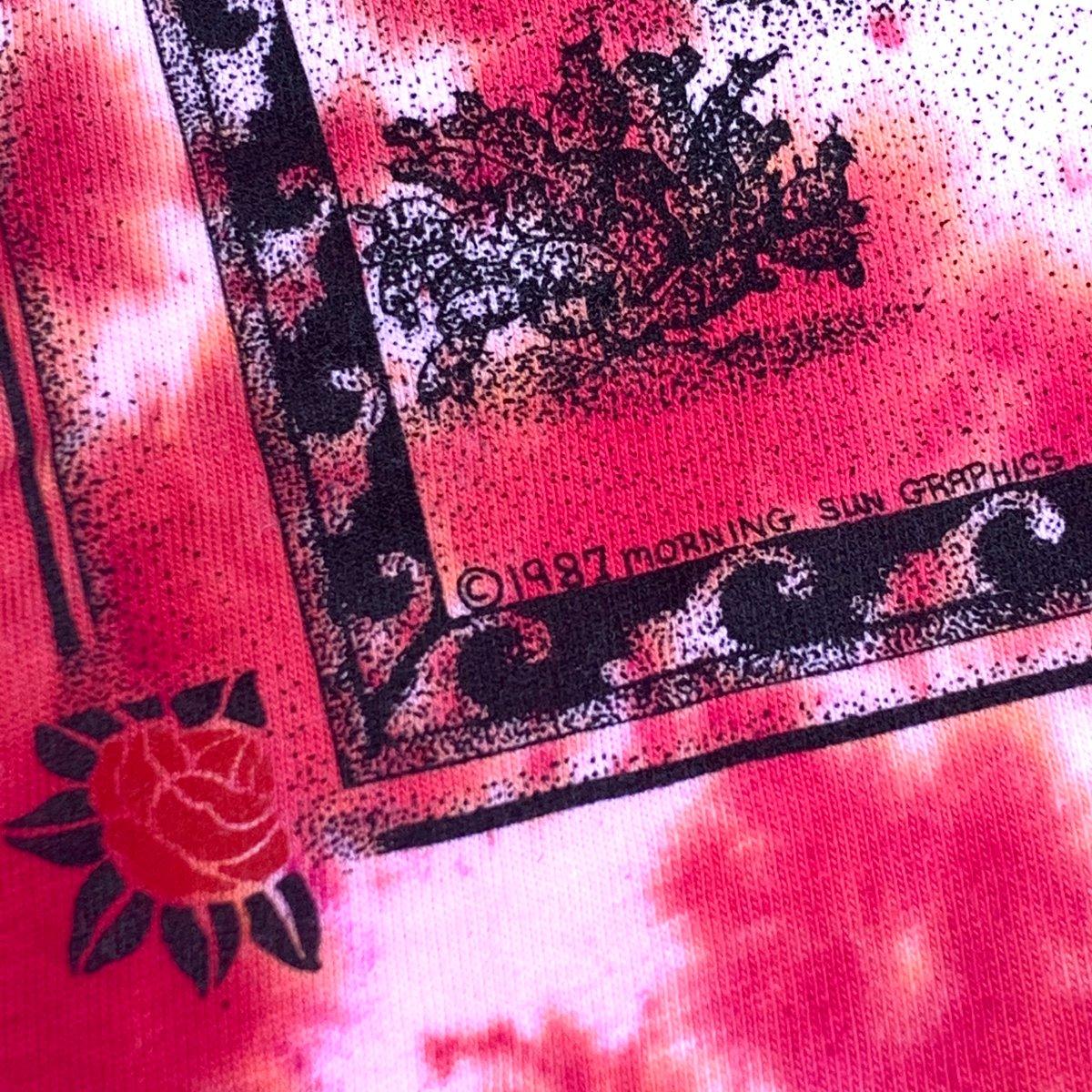 Original Vintage Grateful Dead Telluride 1987 Dye - Deadstock! XL