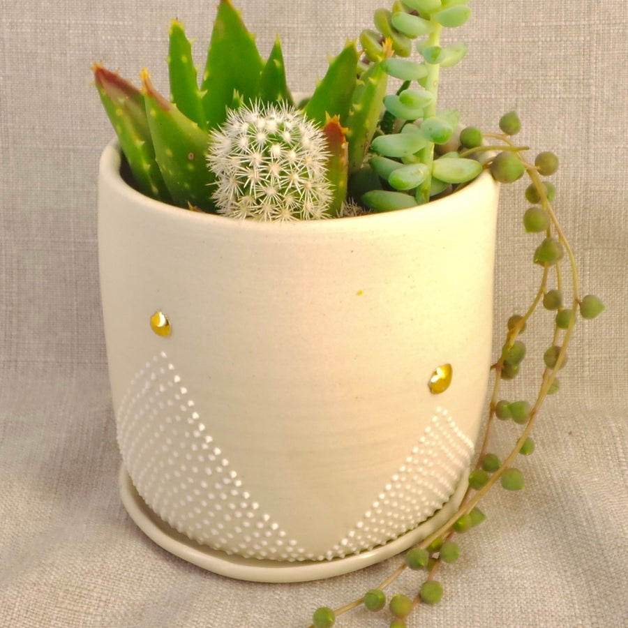 Image of Crown planter (10x10cm)