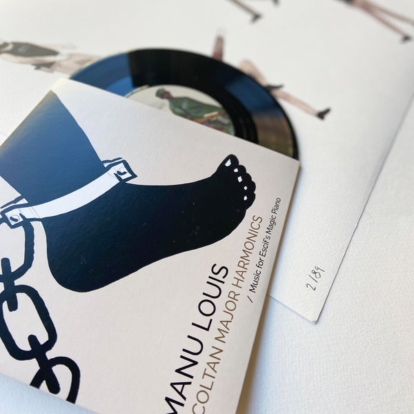 Image of ESCIF / Print + EP . KILL ME BY YOUR DANCE + MANU LOUIS / Coltan Major Harmonics