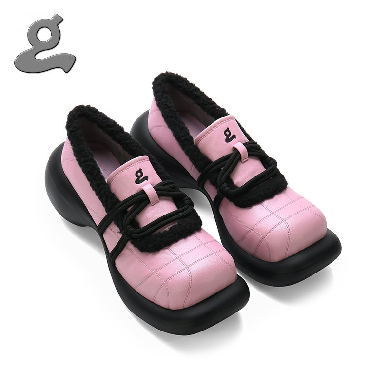 """Image of Pink-black platform shoes""""magician"""""""