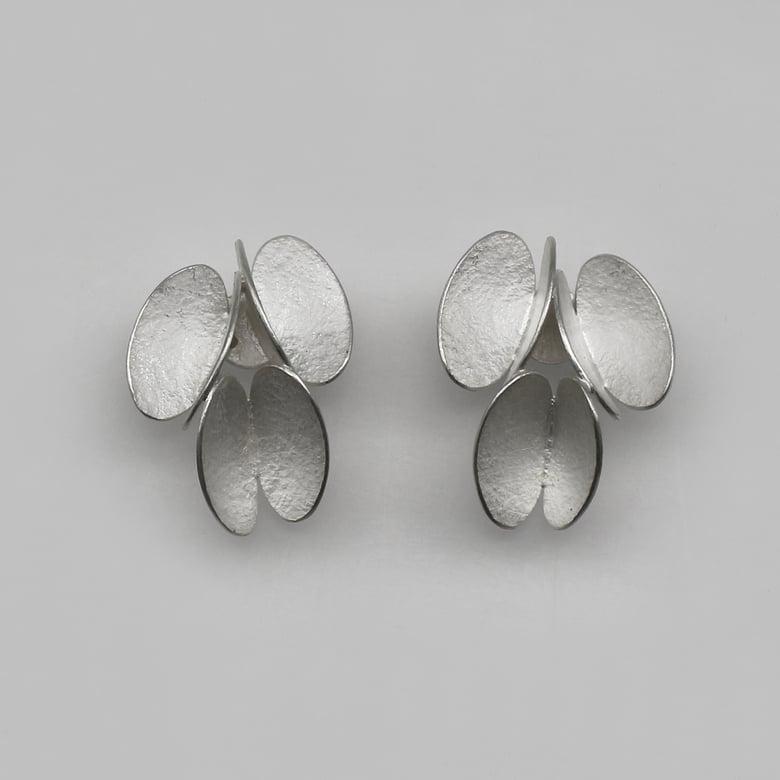 Image of butterfly 3 elements earrings