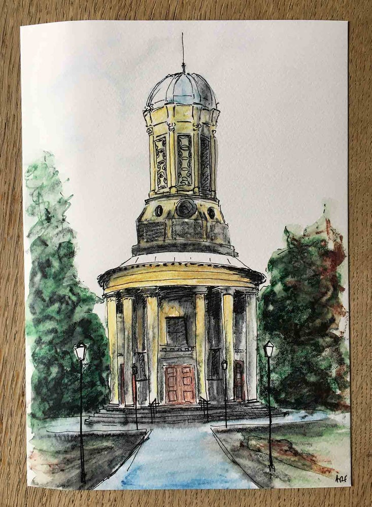 Image of Saltaire United Reformed Church - A4 print