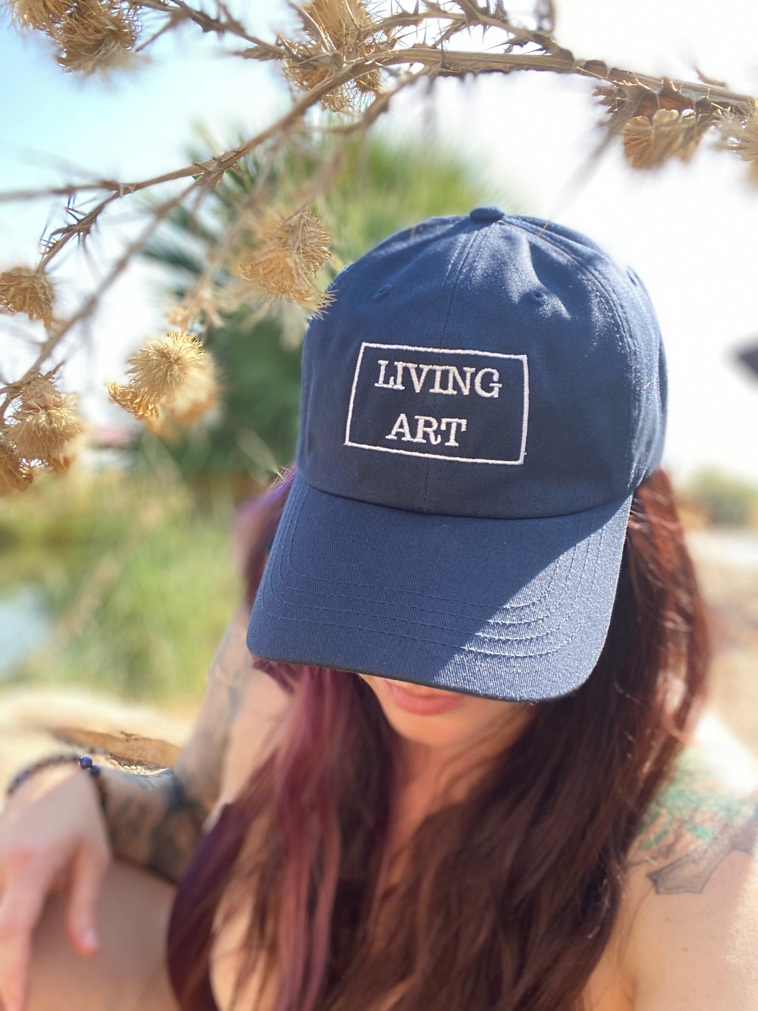 Image of Living Art Dad Cap