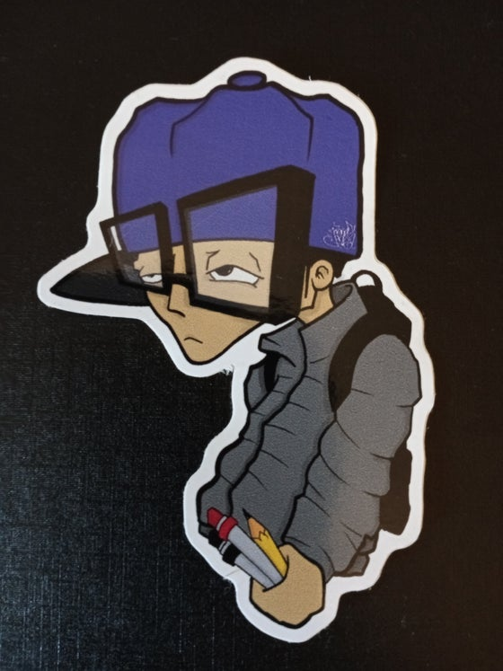 Image of Old Skool Character Sticker