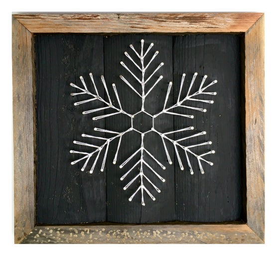 Image of Large snowflake