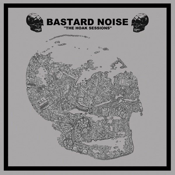 BASTARD NOISE / LACK OF INTEREST Split LP