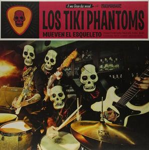 Image of LP. Los Tiki Phantoms : Mueven El Esqueleto